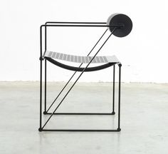 Seconda 602 Chair by Mario Botta for Alias