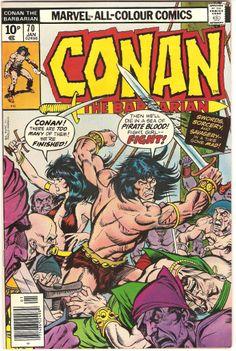 Conan The Barbarian. Vol. 1, No. 70. U.S. Marvel Comic. Jan. 1977.