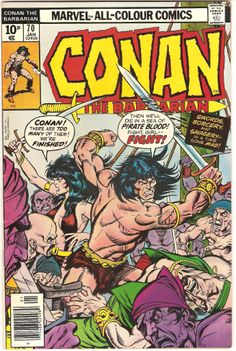 Conan The Barbarian. Vol. 1, No. 70. U.S. Marvel Comic. Jan. 1977.