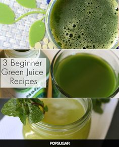 Just Bought a Juicer? 3 Beginner Green Juices to Try