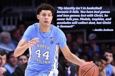 This is why he's my favorite Basketball Park, Basketball Tricks, Basketball Quotes, College Basketball, Basketball Players, Justin Jackson, Coach Quotes, Unc Tarheels, Sports Memes