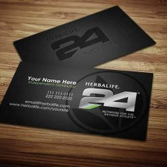 Herbalife Business Cards Design 5 24 Nutrition Health Coach Card