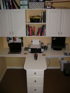 two person office in a x space for less cabinetry from craigslist diy abm office desk diy