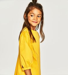 FULL SLEEVE DRESS-DRESSES AND JUMPSUITS-GIRL | 5 - 14  years-KIDS | ZARA United States