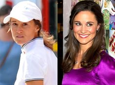 Pippa Middleton from Stars Without Makeup  The Duchess' sister skipped the foundation while indulging in some retail therapy in London.