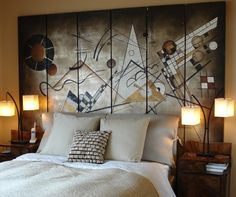 InkShuffle TIP: A beautiful wall decor can make your bedroom look beautiful. Choose a wallpaper that reflects your interest and style. Matching the decor with your wall color can make your bedroom look aesthetically beautiful.