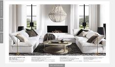 Elegant Comforter Sets, Restoration Hardware, Luxury Bedding, Living Area, Living Rooms, Home Furnishings, Luxury Homes, Family Room, New Homes
