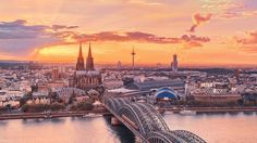 Looking for a cheap hotel in Cologne? Here are the best hotels in Cologne for under 100 Euros a night, from art hotels to design motels. Guided Tours Of Europe, Cologne Germany, City Landscape, Urban Landscape, Germany Landscape, Bangkok Thailand, Germany Travel, Best Hotels, Cool Places To Visit