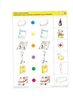 visuele discriminatie voor kleuters / preschool visual discrimination Logic Games, Worksheets For Kids, Creative Thinking, Critical Thinking, Speech Therapy, Kindergarten, Preschool, Teaching, Math