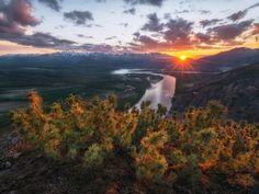 река Индигирка. Якутия, северо-восток России. Indigirka. Yakutia in the Northeast of Russia Photo by Андрей Грачев