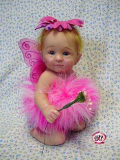 DOTY 2010 Nominee for Collectible Miniature Doll   Flower Fairy, Laura Lee Wambach, MasterPiece Dolls