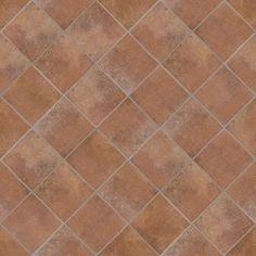 Texture seamless floor tile cotto