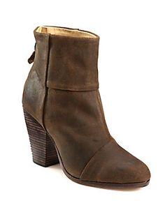 Rag & Bone Classic Newbury Suede Ankle Boots
