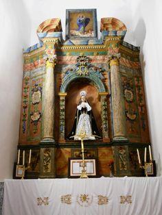 Altar lado del evangelio.