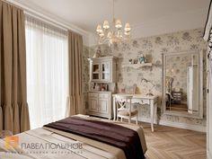 Фото: Дизайн детской комнаты для девочки - Квартира в классическом стиле, ЖК «Привилегия», 135 кв.м.