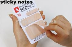 1pcs Cute Band aid Series Memo pad Post it stickers Sticky notes paper Notepad kawaii stationery office papeleria supplies notas-in Memo Pads from Office & School Supplies on Aliexpress.com | Alibaba Group