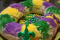 My french teacher is bringing us King Cake today- SO EXCITED