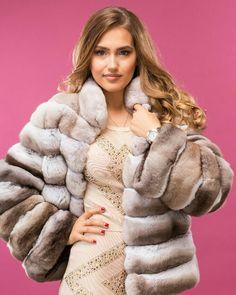 Chincillá fur jacket
