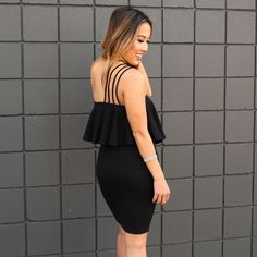 Night Out Style, fascinating moving out looking for every ladies! Higher than style inspiration, visit us now. night out style winter Beautiful Black Dresses, Skater Style, Girls Night Out, Party Fashion, Boutique Dresses, Winter Fashion, Cold Shoulder Dress, Bodycon Dress, Fashion Tips