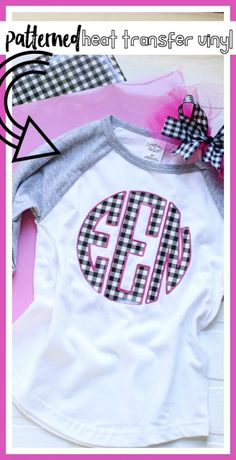 Tips and tricks and ideas for Using Patterned Heat Transfer Vinyl - sugar Bee Crafts