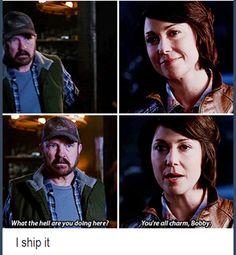 Who else ship Jody and Bobby? [7x06 ''Slash Fiction'']