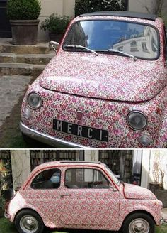 liberty car just big enough for me....and besides, it's pink...no boy would want to ride in it!