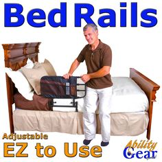 Ability Gear For Less - Deluxe EZ Adjustable Bed Rail, $114.89 (http://www.abilitygearforless.com/deluxe-ez-adjustable-bed-rail/)