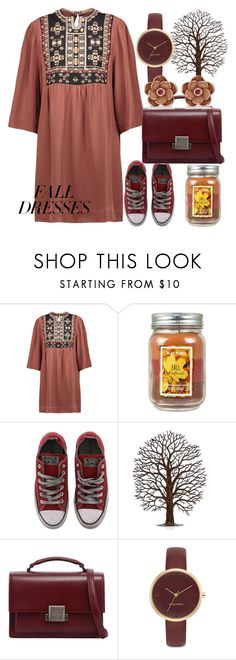 """Breezed"" by aries999 ❤ liked on Polyvore featuring Isabel Marant, Converse, Yves Saint Laurent, Nine West and Allurez"