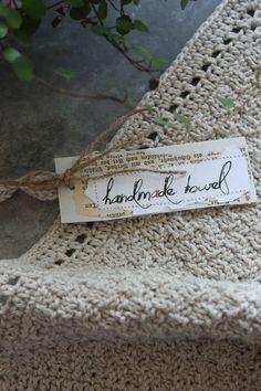 handmade dishtowels  Rezept f. Rosensirup