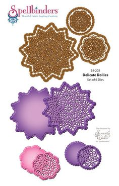 Delicate Doilies Dies | JustRite Papercraft