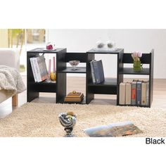 @Overstock - Display cabinet features stunning shelves to showcase books, photos and treasures Versatile bookcase can be position horizontally or vertically   Open back adds an airy look to cabinethttp://www.overstock.com/Home-Garden/Display-Cabinet-Bookcase/4568703/product.html?CID=214117 $146.99