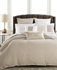 Hotel Collection Waffle Weave Bedding Collection, Only at Macy's - Bedding Collections - Bed & Bath - Macy's