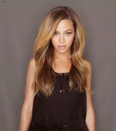 <3 love love love her hair color!!! #beyonce