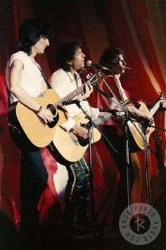 Ronnie Wood, Bob Dylan & Keith Richards by Daniel