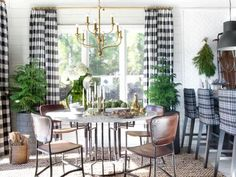 Think you have to pack it in for the winter? Dress your favorite spaces — both indoors and out — for the cold-weather seasons with these chic and cozy decorating ideas.