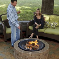 RumbleStone™ fire pit #diy