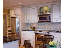 Over The Range Microwave Design, Pictures, Remodel, Decor and Ideas