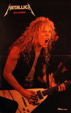 Metallica _James Hetfield...Back in the day...