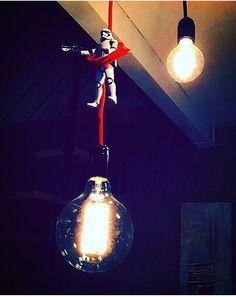Luminaire suspension stormtrooper