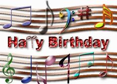 Happy Greetings Congrats: Birthday e card Musical score