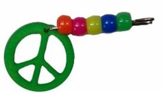 Peace Sign SWAP Kit! Perfect for all levels. Makingfriends.com has the complete kit.