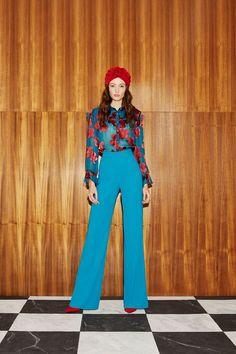 Alice + Olivia Resort 2019 New York Kollektion - Vogue 70s Inspired Fashion, 60s And 70s Fashion, Vintage Fashion, Retro Style Fashion, 70s Outfits, Vintage Outfits, Fashion Outfits, Stylish Outfits, Runway Fashion