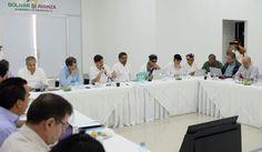 Santos se reunió en Cartagena con el secretariado de las Farc Este lunes, en consejo de ministros, se discutirán avances en el calendario del desarme de la guerrilla y cómo va la reincorporación.