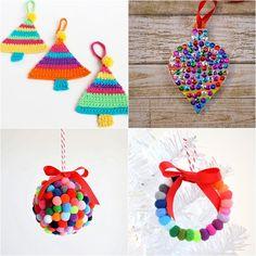 Este ano começamos falando das árvores de Natal e agora vamos falar de enfeites bem diferentes que você pode fazer para a sua árvore de Natal. Vai ser a mais original da família, tenho certeza!