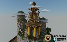[Oriental Fantasy] Diorama - spawn, hub or lobby [BlockWorks App] Minecraft…