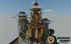 [Oriental Fantasy] Diorama - spawn, hub or lobby [BlockWorks App] Minecraft…