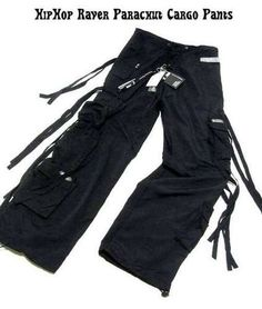 Cargo Pants With Strings