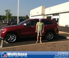 #HappyAnniversary to Stephen Agar on your 2014 #Jeep #Grand Cherokee from Mickey Foster at Wolfchase Chrysler Jeep Dodge!