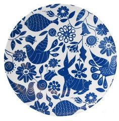 Have to get a set of cheerful plates for camping ...