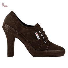 Chaussures Dame - 2065-velw - Full Dark Chocolate - 42 - Chaussures superga (*Partner-Link)